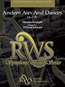 William Johnson | Symphony Band Series | Ancient Airs and Dances MVT IV